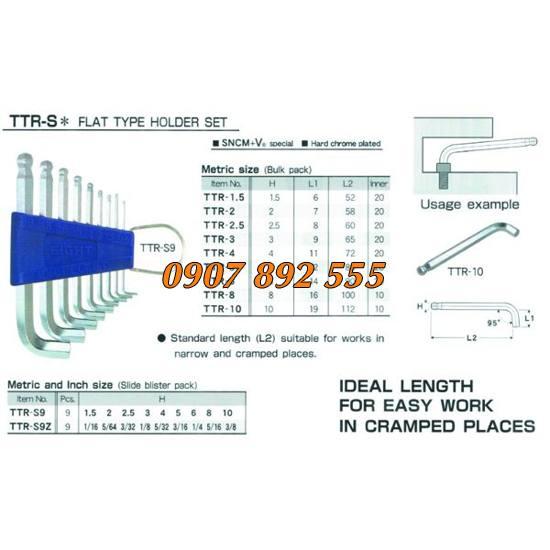 Bộ lục giác Eight TTR S9