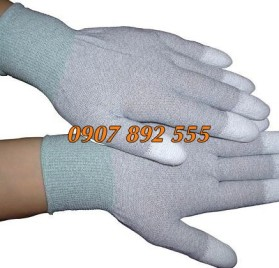 Găng tay chống tĩnh điện phủ PU đầu ngón