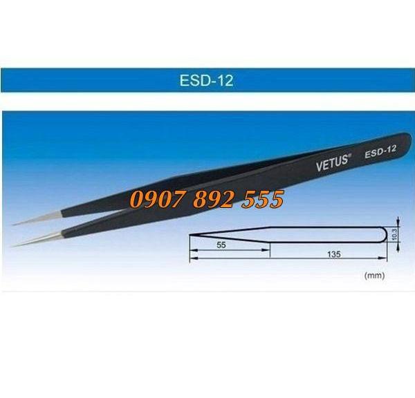 Nhíp chống tĩnh điện ESD 12