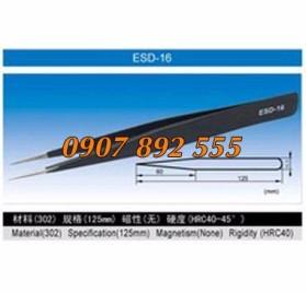 Nhíp chống tĩnh điện ESD 16