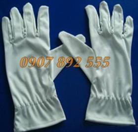 Găng tay phòng sạch siêu mịn 1 chun