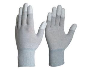 Găng tay chống tĩnh điện phủ PU đầu ngón tay